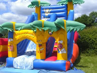 childrens bouncy castles